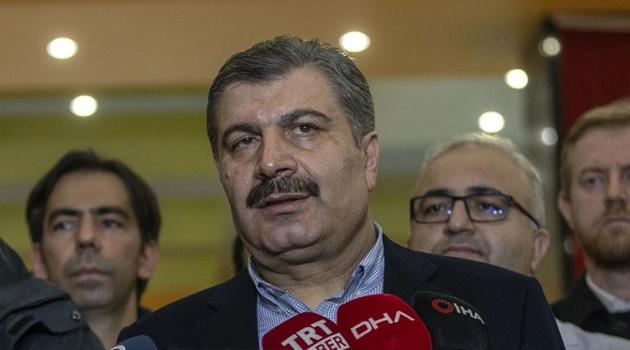 Koca: Şu ana kadar Türkiye'de koronavirüs tanısı alan herhangi bir hastamız olmadı