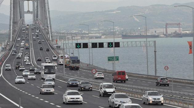 Yavuz Sultan Selim ve Osmangazi köprülerinin geçiş ücretlerine yüzde 14 zam geldi
