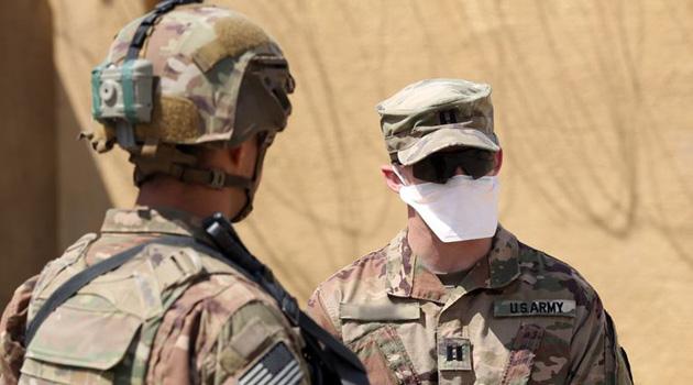 ABD ordusunda vaka sayısı bin 648'e yükseldi