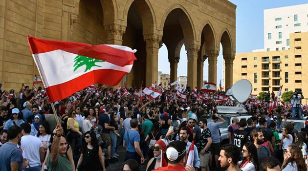 Lübnan'da göstericilerle güvenlik güçleri arasında arbede