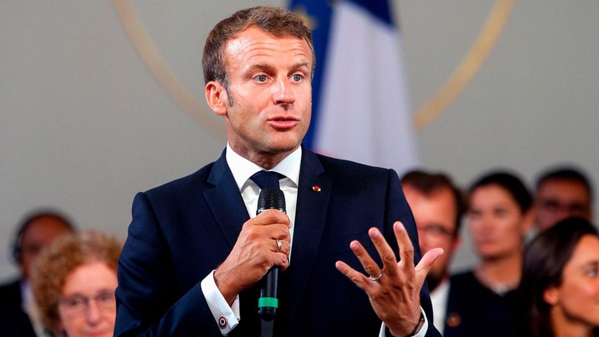 Macron: Hiçbir G7 ülkesi İran'ın nükleer silaha sahip olmasını istemiyor