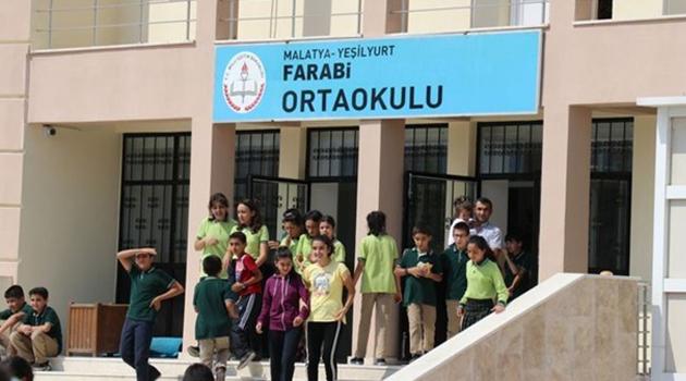 Malatya'da okullara deprem arası