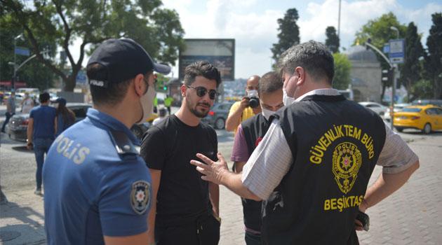 Ankara'da maske takmayan 1147 kişiye 1 milyon TL ceza