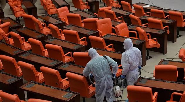 Meclis'te ziyaretçi yasağı 1 ay uzatıldı