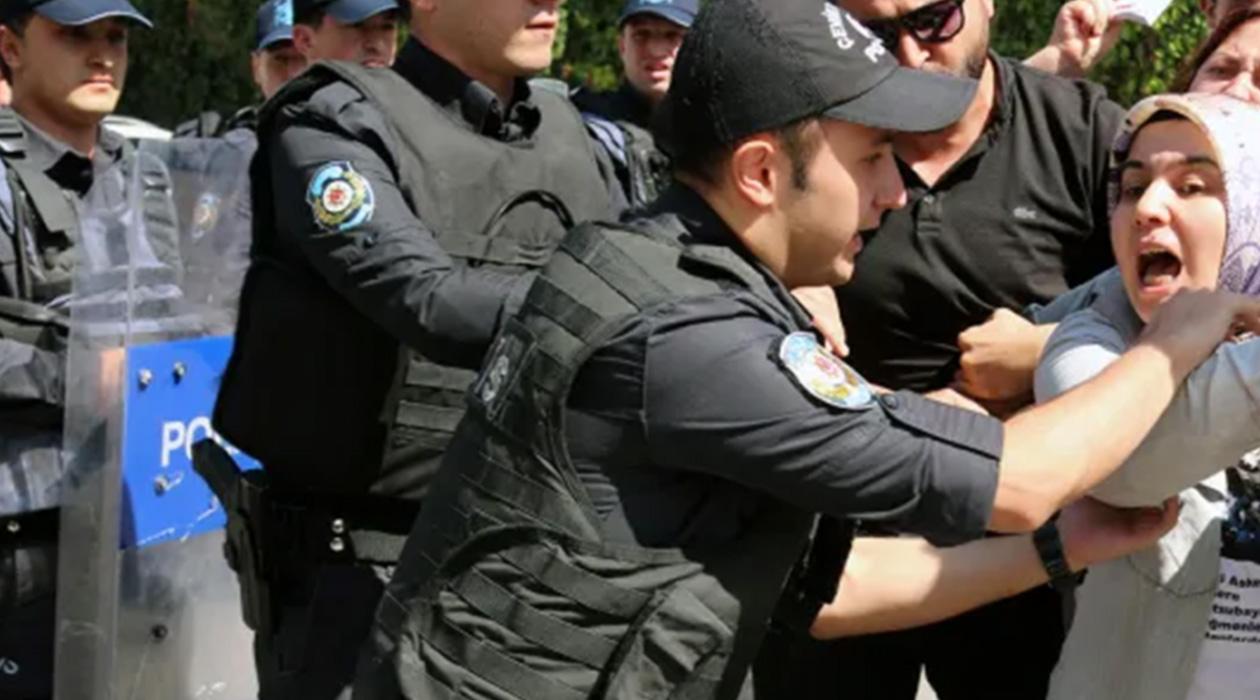 'Adalet Yürüyüşüne' müdahale: 66 gözaltı