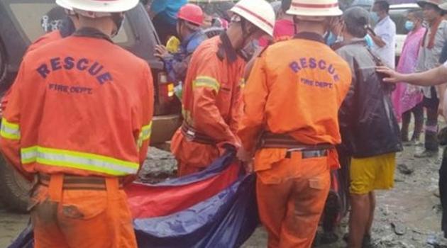 Myanmar'da yeşim taşı madeninde heyelan! 113 madenci hayatını kaybetti