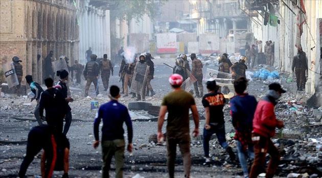 Necef'te göstericilere ateş açıldı