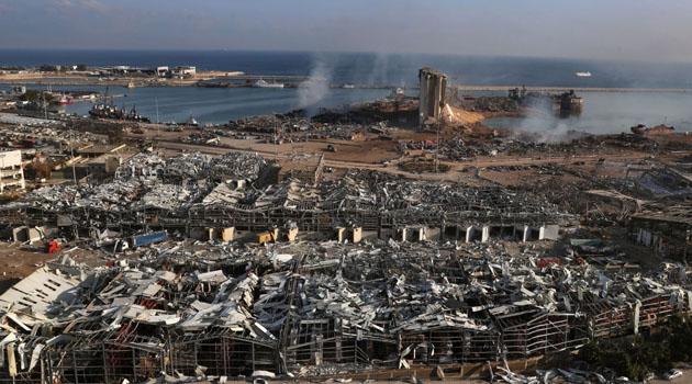 Patlama sonrası Lübnan'da 60'tan fazla kayıp var
