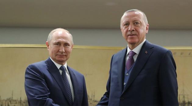 Cumhurbaşkanlığı'ndan Erdoğan ve Putin'in telefon görüşmesiyle ilgili açıklama