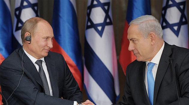 Siyonist Netanyahu'dan Putin'e teşekkür