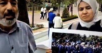 Tutuklu Askeri Öğrencinin Annesi Pankart Açtığı İçin Gözaltına Alındı