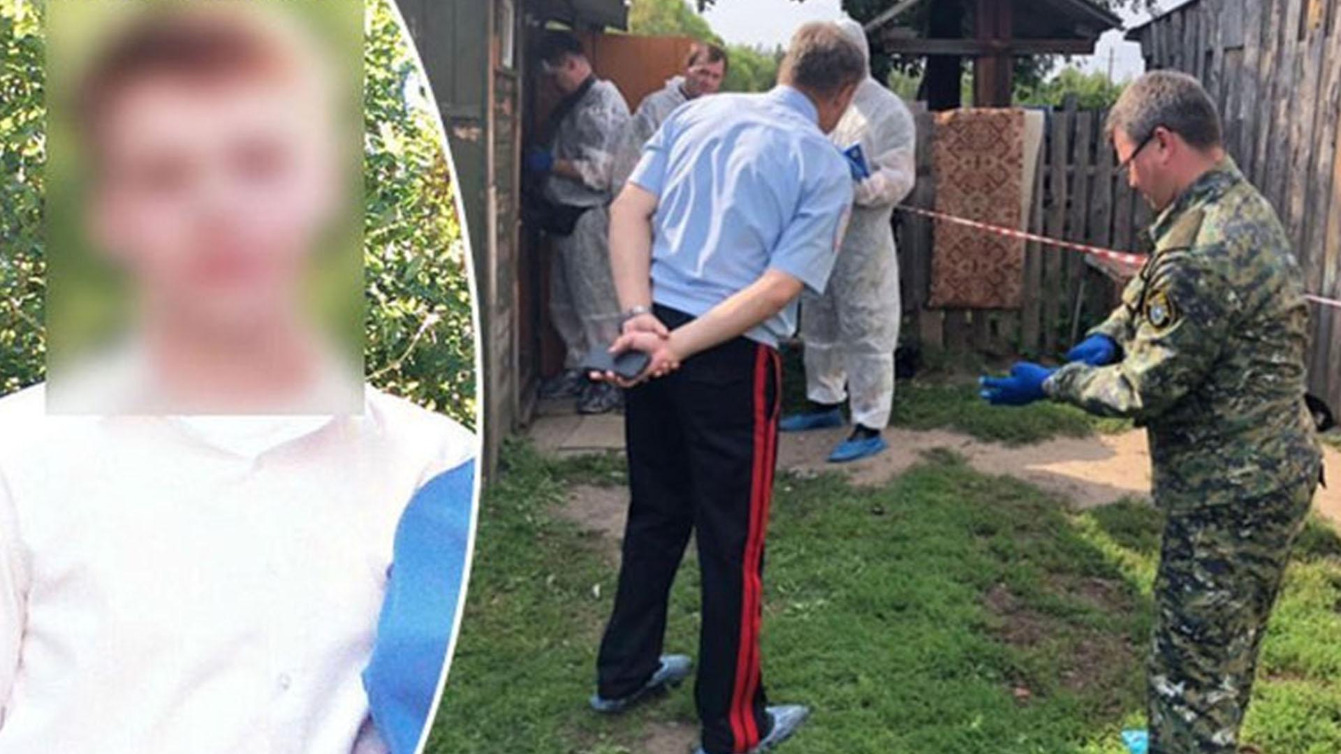 Rusya'da cinnet getiren çocuk ailesini balta ile katletti