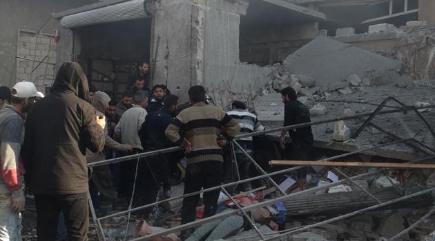 Zalimler yine İdlib'e saldırdı: 11 sivil öldü