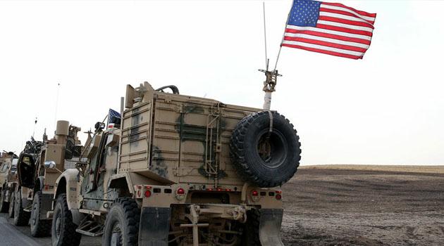Irak'ta ABD ordusuna malzeme taşıyan tırlara saldırı