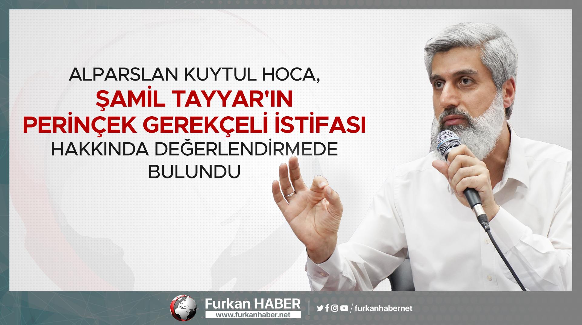 Alparslan Hoca, Şamil Tayyar'ın Perinçek Gerekçeli İstifası Hakkında Değerlendirmede Bulundu