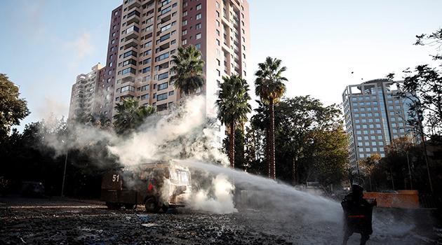 Şili'de hükümet karşıtı protestolar yeniden alevlendi