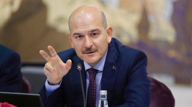 İçişleri Bakanı Soylu: Şu anda Türkiye'de yaklaşık yüzde 95 civarında hayat eve çekildi