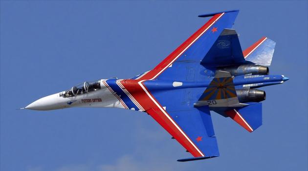 Rus Su-27 uçağı planlı uçuş sırasında Karadeniz'de düştü