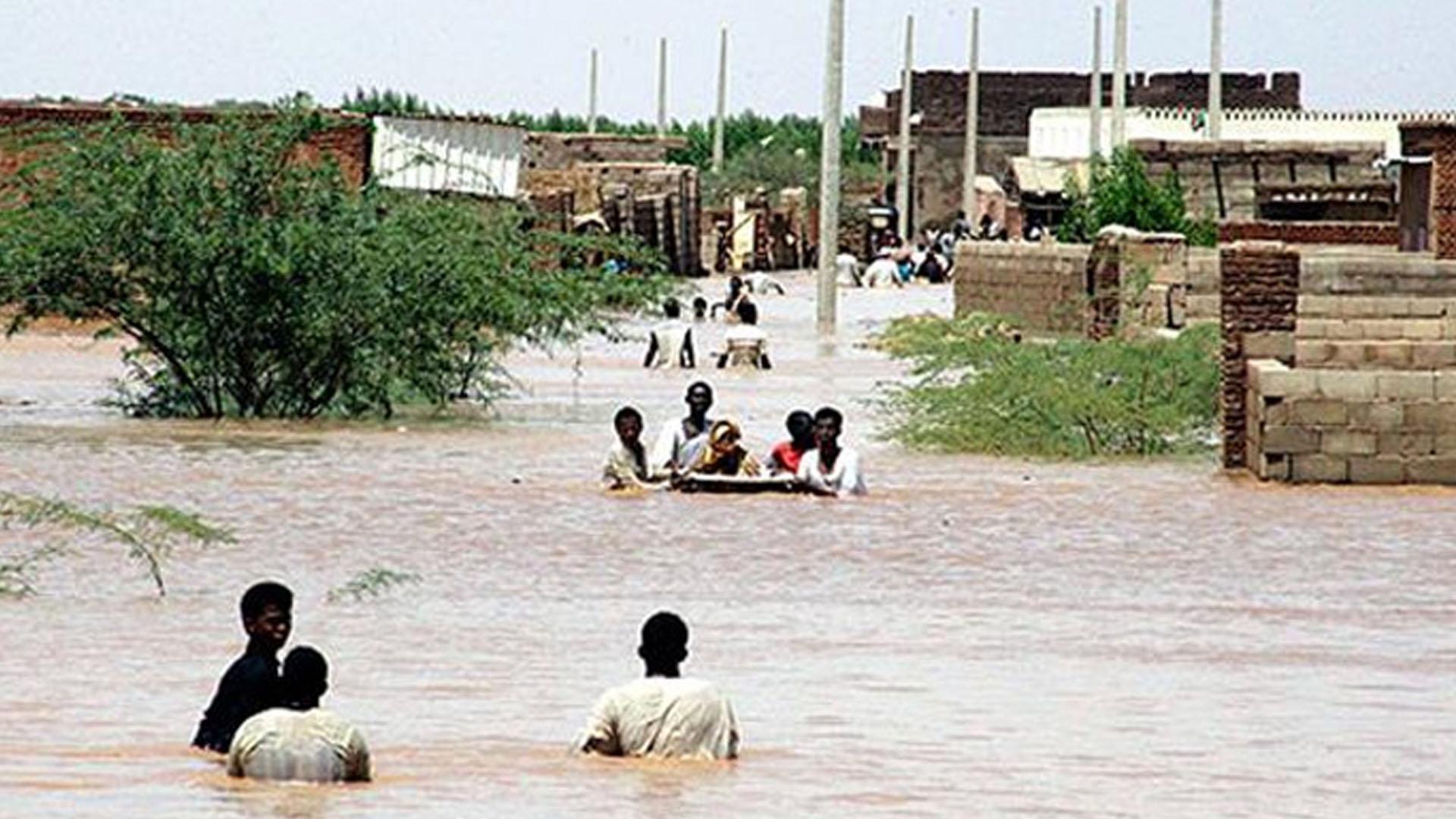 Sudan'da sel sebebiyle 85 kişi öldü