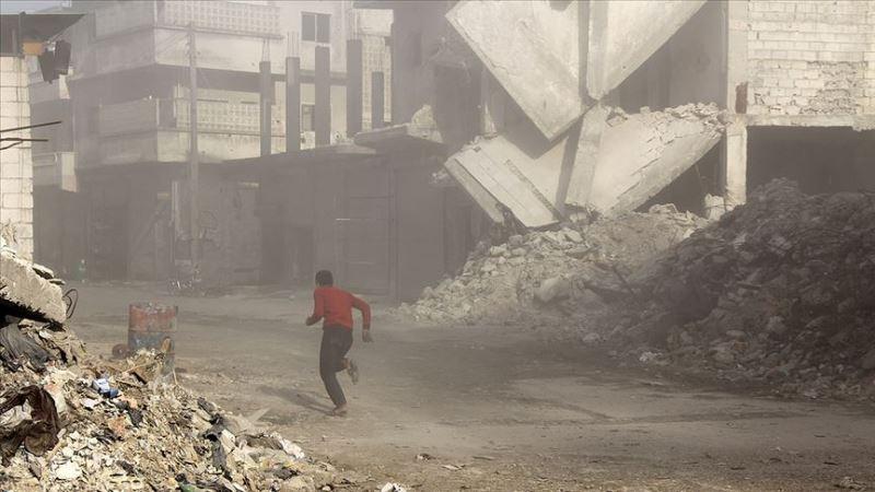 İdlib'de geçen ay 13'ü çocuk 75 sivil öldü