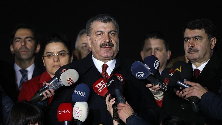 Sağlık Bakanı Koca: Şu ana kadar karantinadaki 61 kişiden alınan numunelerdeki sonuç negatif