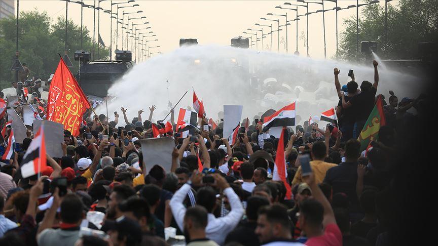 Irak'ta 1 Ekim'den bu yana 490 gösterici öldü, 22 bin kişi yaralandı