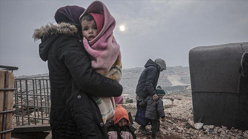 Saldırılar nedeniyle 6 günde 150 bine yakın sivil daha göç etti