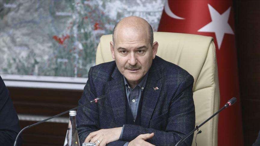 Soylu: 96 milyon lira AFAD'a, 47 milyon lira da Kızılay'a geldi