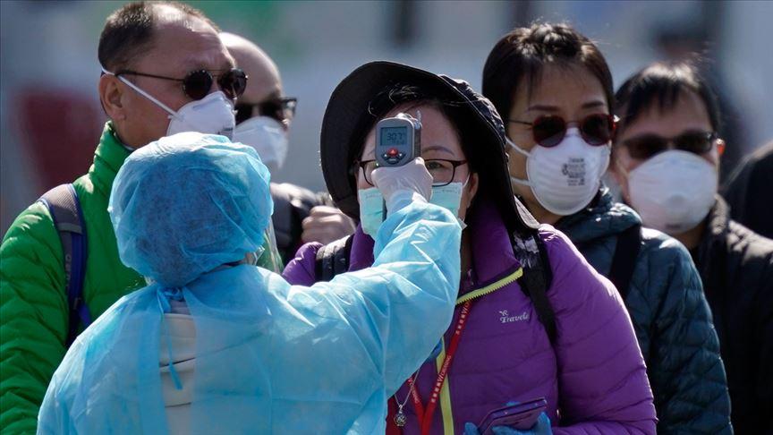 Koronavirüs şimdiye kadar 77 bin kişiye bulaştı