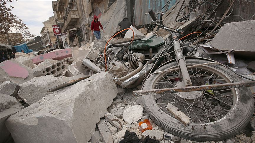 Rusya'nın İdlib Gerginliği Azaltma Bölgesi'ndeki saldırılarında 5 sivil öldü