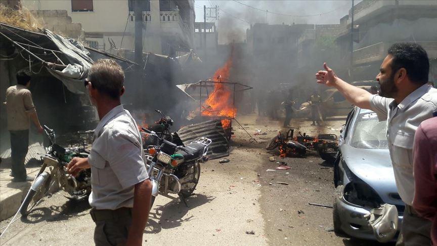 YPG/PKK'nın düzenlediği saldırılarda 6 sivil hayatını kaybetti