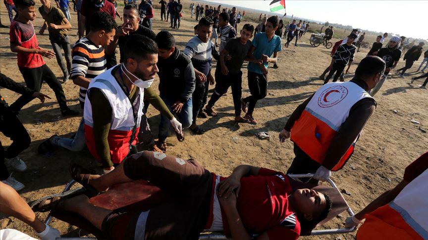 Siyonist İsrail askerleri 96 Filistinliyi yaraladı