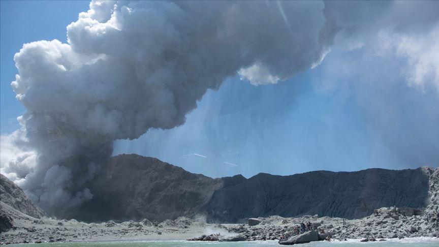 Yeni Zelanda'daki yanardağ patlamasında ölü sayısı artıyor