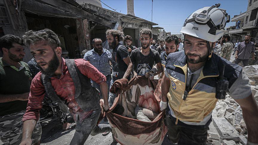 Esed rejimi ve Rusya'nın İdlib'e saldırılarında 6 sivil daha yaşamını yitirdi