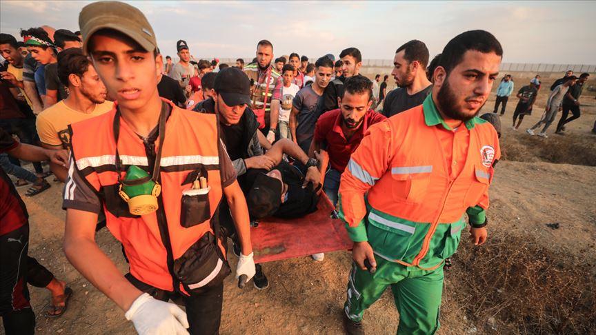 İşgalci İsrail'in saldırıları devam ediyor! 50 Filistinli yaralandı