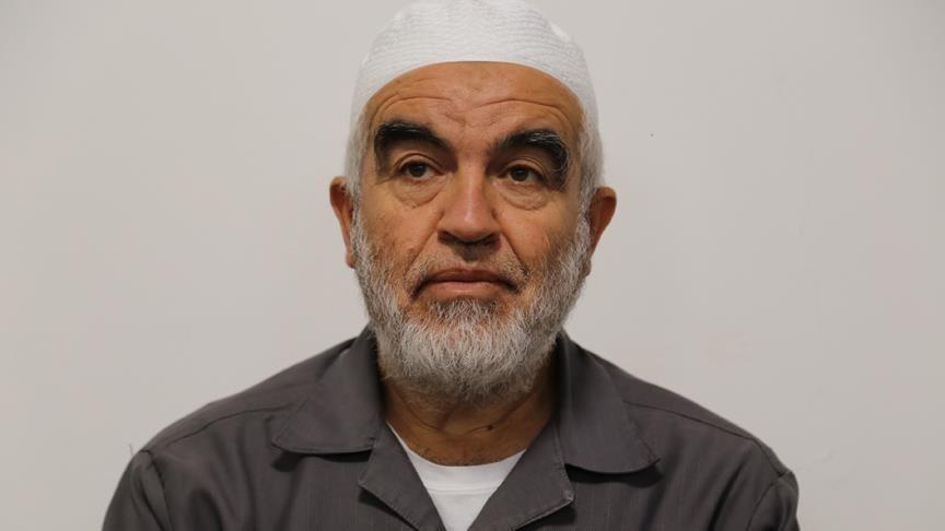 İşgalci İsrail mahkemesinden Şeyh Raid Salah'a 28 aylık fiili hapis cezası
