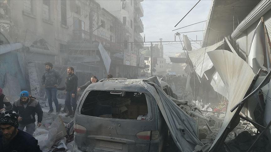 Son 48 günde Suriye'nin kuzeybatısında yaklaşık 300 sivil öldü