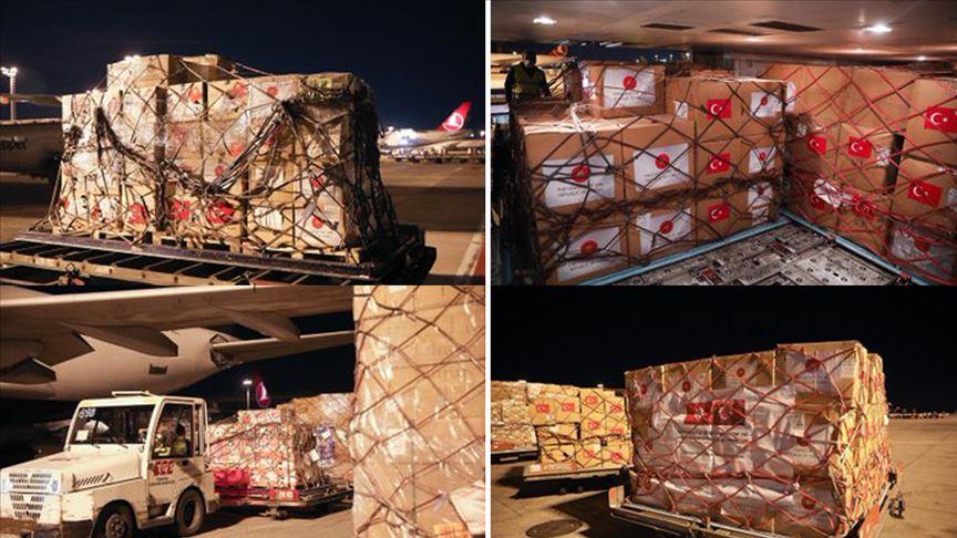 Tunus'a tıbbi yardım gönderildi