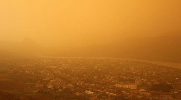 Türkiye, hafta sonuna kadar çöl tozu etkisinde kalacak