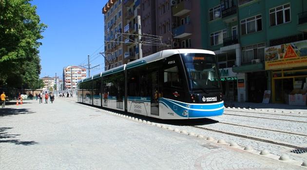Kocaeli'de tramvay ve otobüs saatlerine Ramazan ayı düzenlemesi