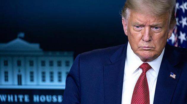 Beyaz Saray'da güvenlik alarmı: Trump basın toplantısı düzenlediği salondan çıkarıldı