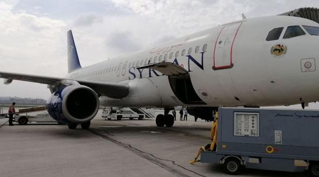 Şam ile Halep arasında 8 yıl aradan sonra ilk uçak seferi yapıldı
