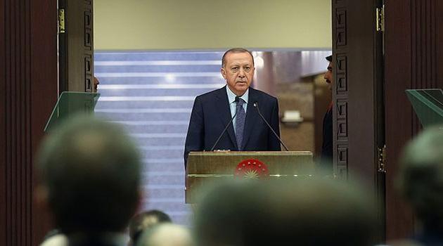 Erdoğan, koronavirüs toplantısının ardından Ulusa Sesleniş konuşması yapıyor