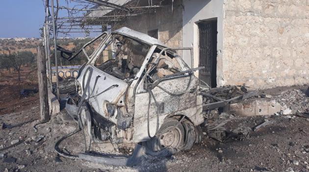 Esed rejiminden Halep'e saldırı