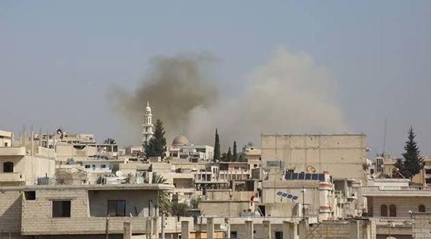 Esad rejimi İdlib'i vurdu: 1 çocuk öldü