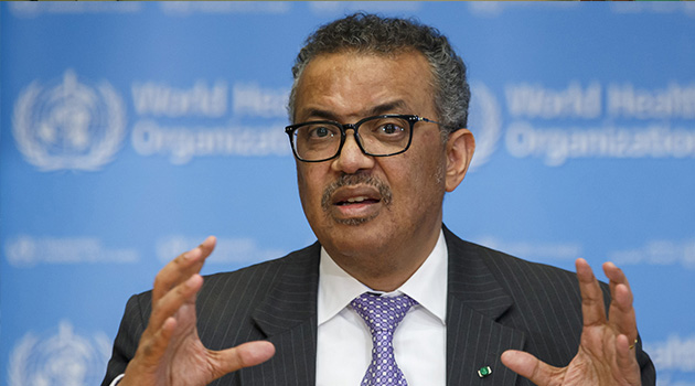 WHO Genel Direktörü Ghebreyesus: Küresel enfeksiyon yayılımından derin endişe duyuyorum