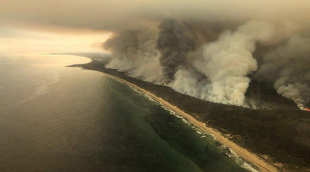Avustralya'da dev orman yangınları 30, 'yangın bulutları' ise 445 kişinin ölümüne yol açtı