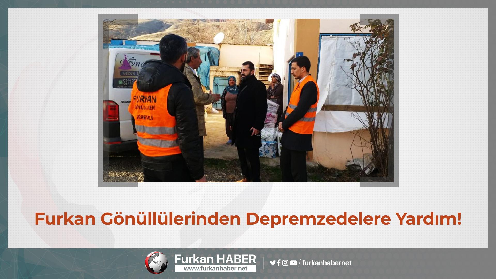 Furkan Gönüllülerinden Depremzedelere Yardım!