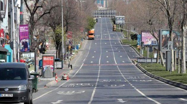 81 ilde sokağa çıkma kısıtlaması başladı, 18.30'a kadar sürecek