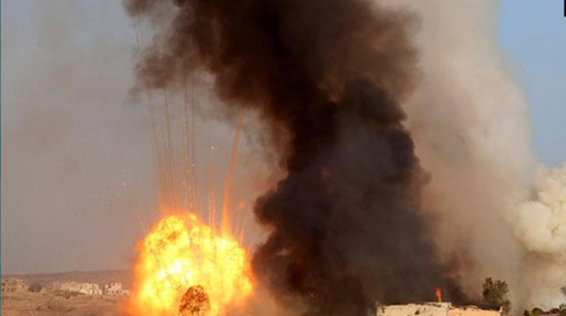 Koalisyon uçakları Yemen'de bir evi vurdu: 9 ölü, 18 yaralı
